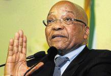 President Jacob Zuma of South Africa clocks 75.