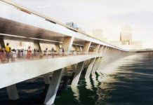 An artist view of the proposed 4th Mainland Bridge