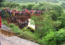"""We lost 29 students and two of our staff, and the bus driver died too,"" said director of the Lucky Vincent Primary School"