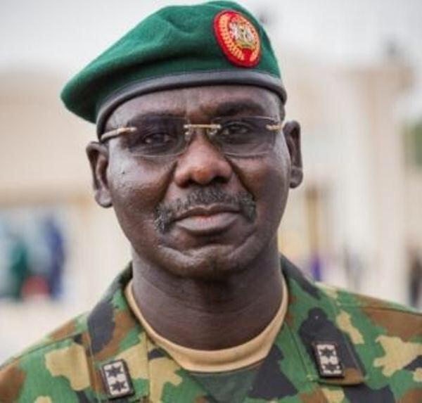 Nigeria's Chief of Army Staff, Lt.-Gen. Tukur Buratai insists on Operation Positive Identification