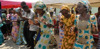 Some of the Chibok girls freed in October 2016
