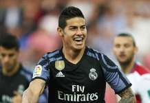 James Rodriguez has scored seven times in his past nine appearances for Real Madrid
