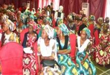 Chibok girls graduate