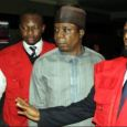 Olajide Omokore in company of Economic Financial Crimes Commission (EFCC) officials