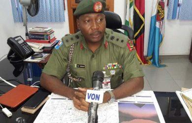 Nigerian Army spokesman Brigadier-General Sani Usman says Amnesty International (Nigeria) is trying to destabilise the country