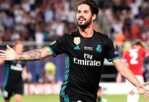 Isco has been diagnosed with acute appendicitis