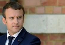 President Emmanuel Macron's of France