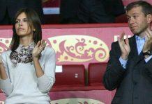 Roman Abramovich and Darya Zhukova.