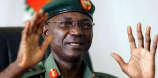Major General John Enenche defence