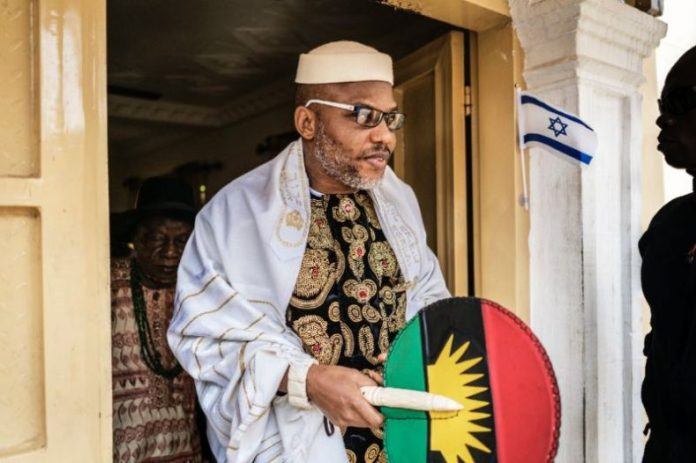 Nnamdi Kanu is leader of proscribed IPOB