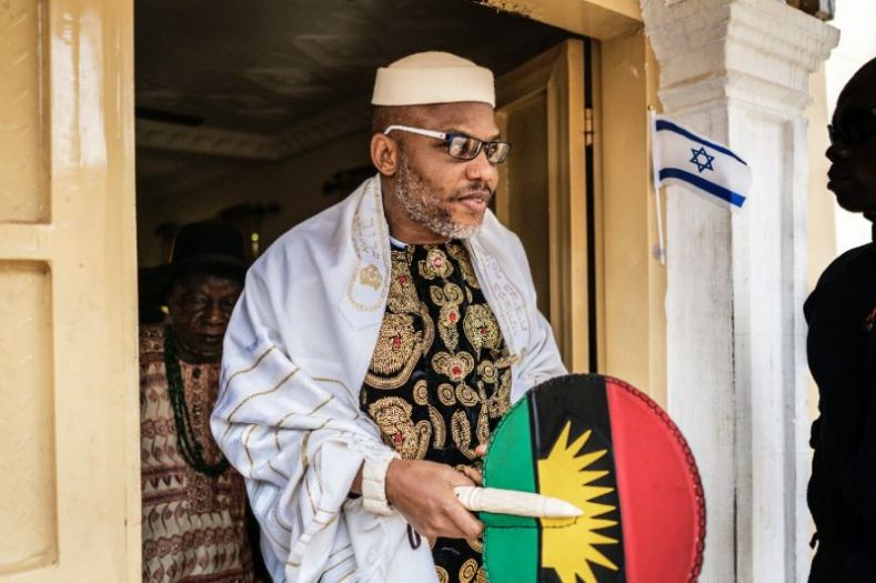 IPOB leader Nnamdi Kanu sureties including Senator Eyinnaya Abaribe have forfeited N100 million