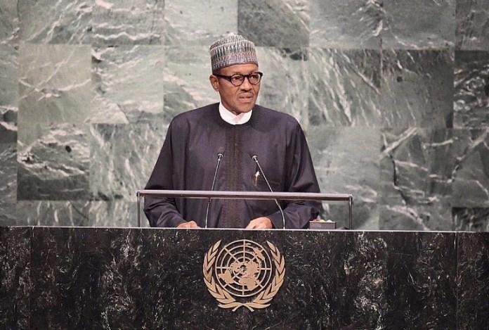 President Muhammadu Buhari in New York at the 73rd #UNGA