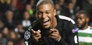 Kylian Mbappe scored PSG's second goal