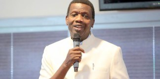 Pastor Adeboye, General Overseer of the Redeemed Christian Church of God