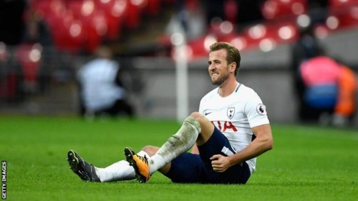 Harry Kane will be out of action till March