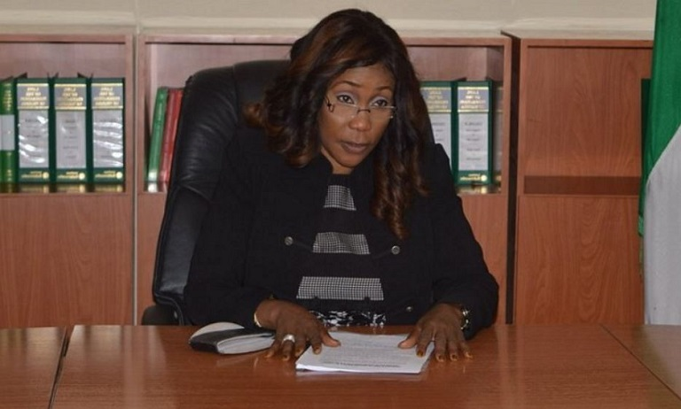 Director General of NAPTIP, Julie Okah-Donli