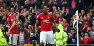 Anthony Martial scored twice as Manchester United beat Newcastle 4-1 at Old Trafford