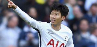 Tottenham forward Son Heung-min has fractured his arm