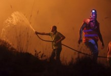 Australia bushfire leaves 200 homes burnt