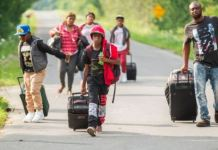 Asylum seekers with valid US visas are crossing into Canada illegally forcing cities to come up with new contingency plans immigrants
