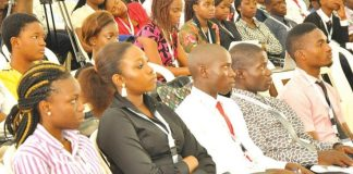 Nigerian Youths at an event