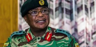 Zimbabwe Army General Constantino Chiwenga warned of a military takeover