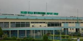 Akanu Ibiam International Airport in Enugu is under repair by FAAN