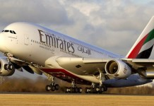 Emirates is suspending all flights to France, Germany, Nigeria, New York and New Jersey