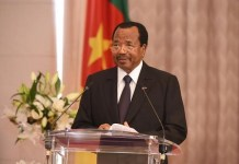 President Paul Biya has been leader of Cameroon since 1982