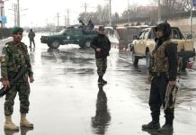 Security forces have blocked off the roads near the site of the attack