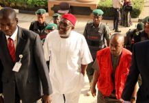 Olisa Metuh is being tried for a N400 million fraud by the EFCC