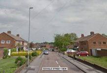 Police were called to the address in Walsall on Saturday night