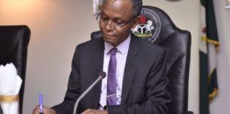 Governor Nasir El-Rufai of Kaduna has tested positive for coronavirus