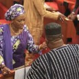Senator Oluremi Tinubu returned unopposed