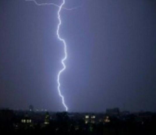Lightning struck a Seventh Day Adventist Church in Rwanda