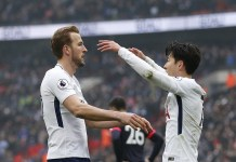 Harry Kane and Son Heung-min each scored twice as Tottenham beat Red Star Belgrade 5-0