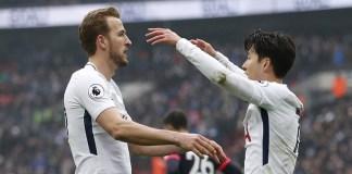 Harry Kane and Son Heung-min each scored twice as Tottenham beat Red Star Belgrade 5-0