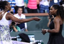 Venus Williams beat her sister Serena in straight set at the Indian Wells