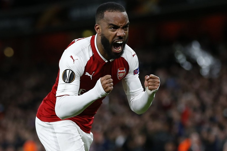 Alexandre Lacazette scored Arsenal's only goal