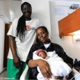 A female migrant has delivered a baby boy named Miracle aboard MV Aquarius