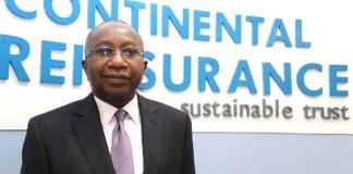 Maduka Okafor has sued Dr Femi Oyetunji for running Continental Reinsurance illegally