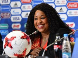 FIFA Secretary General Fatma Samoura