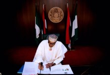President Muhammadu Buhari signed 7.5% VAT into law