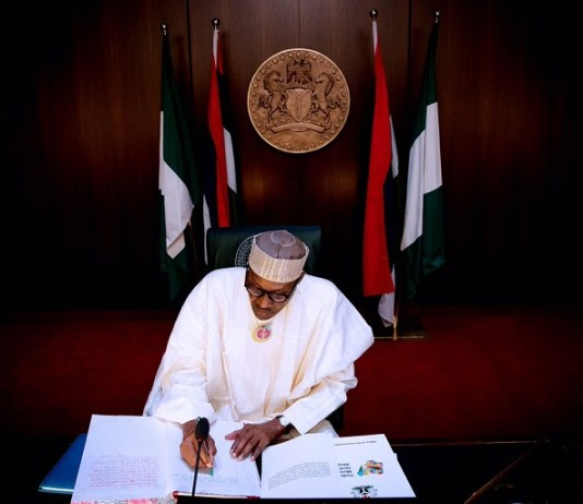 President Muhammadu Buhari signed 7.5% VAT into law
