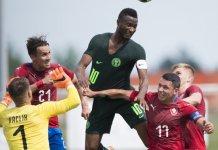 Tomas Kalas scored as Czech Republic beat Nigeria 1-0