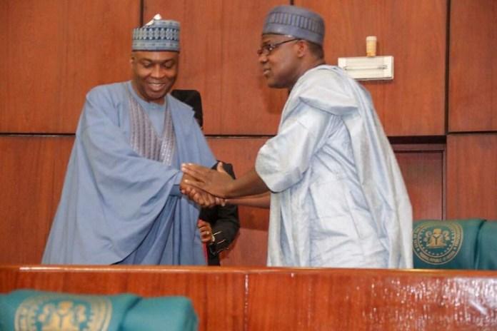Senate President Bukola Saraki and Rt. Honourable Yakubu Dogara