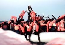 Interior Minister Matteo Salvini has refused to allow migrants into Italy Photo/SOS Mediterranee Italia