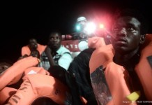 African migrants have been shut out by new Interior Minister Matteo Salvini Photo/SOS Mediterranee Italia