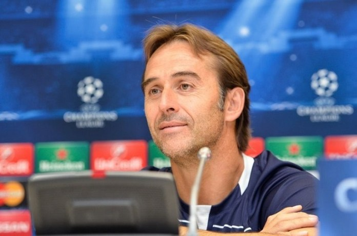 Sevilla has appointed manager Julen Lopetegui