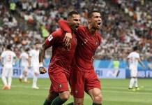 Ricardo Quaresma scored a screamer as Iran held Portugal 1-1